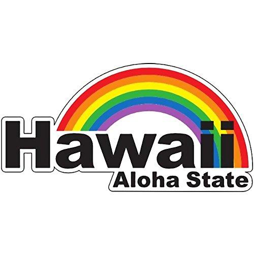 ハワイアン雑貨/インテリア HID アイランドデザイン ステッカー(Hawaii) 【ハワイ雑貨】【お土産】
