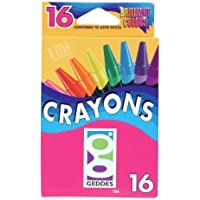 Geddes 16ct Crayons - Set of 12 [並行輸入品]
