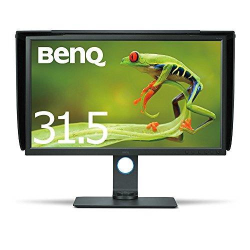 BenQ カラーマネージメントモニター ディスプレイ SW320 32インチ/4K UHD/IPS/DisplayPort,miniDisplayPort,HDMI搭載/遮光フード付