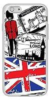 iPhone6s TPU ソフトケース 574 LONDON 素材ホワイト