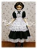60cmドール用ドレス SDアシュリー・ロング ブラック s