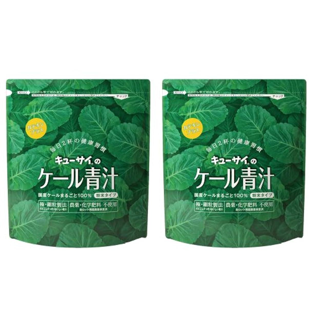 ニコチンピカリング絶対にキューサイ青汁カテキンプラス420g(粉末タイプ)2袋まとめ買い【1袋420g(約1カ月分)】