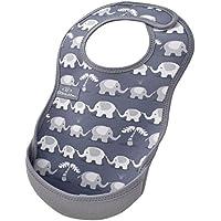 Bibetta ビベッタ 防水くるくるエプロン ウルトラビブ M ミディアム Elephant エレファント