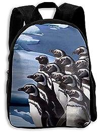 キッズ バックパック 子供用 リュックサック ペンギン ショルダー デイパック アウトドア 男の子 女の子 通学 旅行 遠足