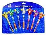 東京ディズニーシー 15周年 ザ・イヤー・オブ・ウィッシュ きらめく海へ!クリスタル ボールペンセット 7p