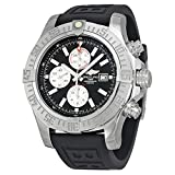 Breitling Men 's bta1337111-bc29bkpt3Super Avenger II Analog Display Swiss Automatic Black Watch