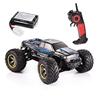 GPTOYS S911 RC Monster Truck 1/12 Scale Supersonic Explorer with 2 - Wheel Driven Electric Racing Truggy Waterproof 2.4GHz 2WD Electric Off Road Car Blue 【You&Me】 [並行輸入品]