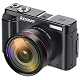 ミラーレス一眼 デジタルカメラ デジタル一眼カメラ 24MP WIFI 16倍デジタルズーム 広角レンズ付属 Kenuo