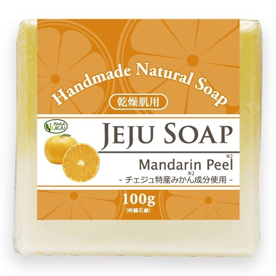 健康伝染性金額チェジュ ミカン石鹸 100g