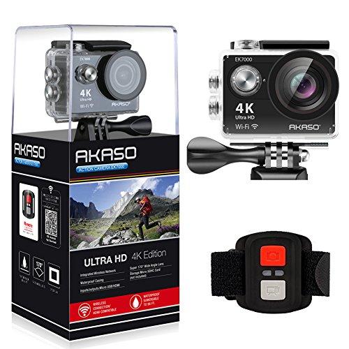 AKASO EK7000 4K WIFI スポーツ カメラ HD 1200万...