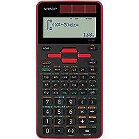 シャープ 関数電卓 ピタゴラス スタンダードモデル EL-509T-RX(レッド)