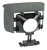 Filmcity mb-77カメラマットボックスサンシェードフード  Best手頃なマットボックスのビデオデジタル一眼レフカメラ用43mm to 77mmレンズ