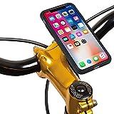 TiGRA Sport iPhone X スマホスタンド 自転車 バイク スマホホルダー スマートフォンホルダー MountCase for iPhoneX【簡単2タッチで着脱】