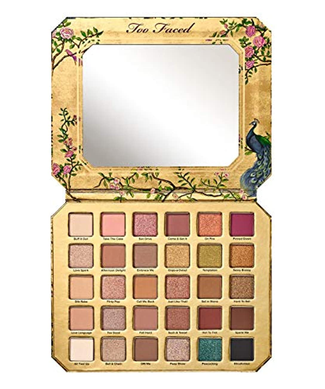 話慈悲繊細Too Faced Natural Lust Eye Shadow Palette+ FREE Sample