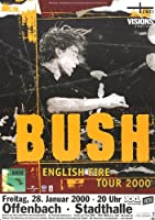Bush–科学のThings 2000–Concertポスターplakat
