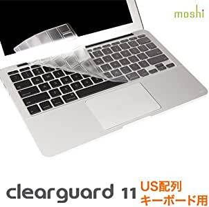 moshi clearguard 11 (USキーボードモデル) MacBook Air 11インチ US用【日本正規代理店品】