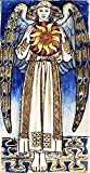 William Morris - デイエンジェル日の開催します Day Angel Holding a Sun 油彩 キャンバス 木枠なし 30X60 cm - 神話の 絵画 複製画 印刷 美術品 壁掛け