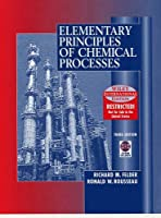 WIE Elementary Principles of Chemical Processes with CD WIE