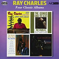 -FOUR CLASSIC ALBUMS- THE GENIUS HITS THE ROAD / THE GENIUS SINGS THE BLUES / AFTER HOURS / GENIUS + SOUL = JAZZ