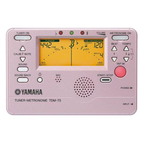 YAMAHA ヤマハ チューナーメトロノーム プラチナピンク TDM-75P...