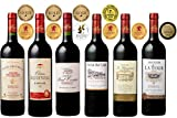 【ワイナリーから直輸入】金賞受賞ボルドーだけを集めた濃縮感たっぷりのフルボディ赤ワイン6本セット 750mlx6 [フランス][Winery Direct]