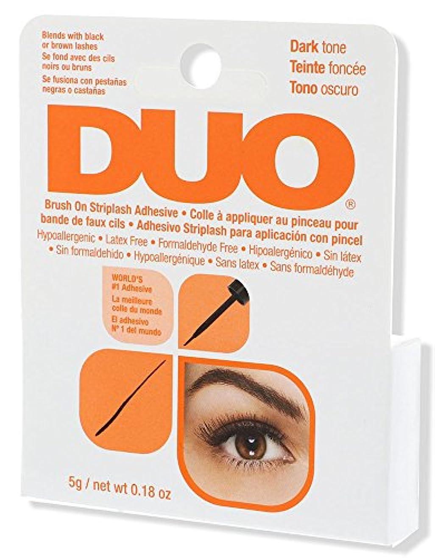 はさみバター素晴らしい良い多くのDUO Brush On Striplash Adhesive Dark Tone (並行輸入品)