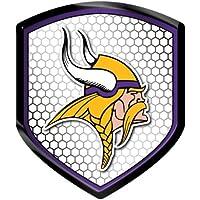 Caseys 8162065317 Minnesota Vikings Shield Style Reflector