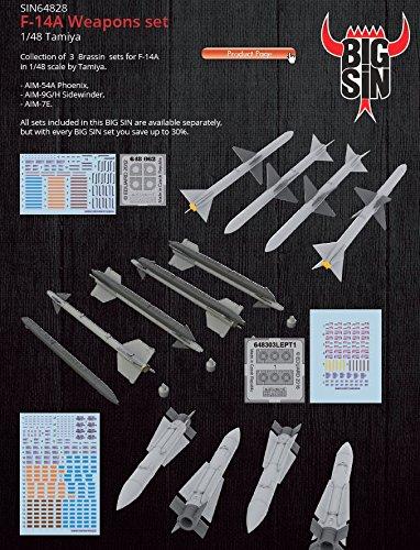 1/48 F-14A ウェポン タミヤ用  エデュアルド EDUSIN64828 ZS25045
