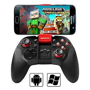 Android コントローラー BEBONCOOL TELEC認証 Bluetooth コントローラー Android スマホ ゲーム パッド
