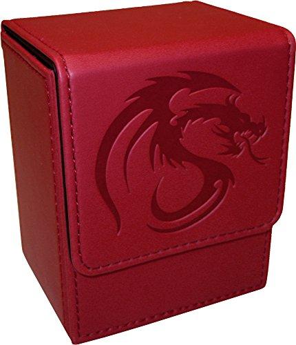 ( 1)レッドTradingカードボックス–BCWブラ...