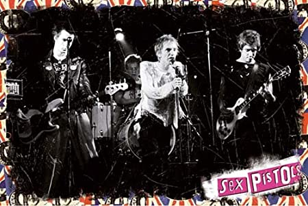 ポスター SEX PISTOLS On Stage S3395