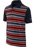 [(ナイキ ゴルフ) NIKE GOLF] キッズ トップス DRI-FI ボーダー 半袖 ポロシャツ 401497