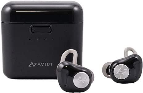 AVIOT 日本のオーディオメーカー Bluetooth イヤホン 完全ワイヤレス TE-D01d (ブラック)