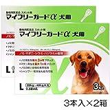【2箱セット】マイフリーガードα 犬用 L 20~40kg 3本(動物用医薬品)
