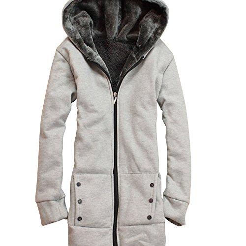 (ノーブランド品) アウター パーカー フード付きパーカー フード付き レディース 裏起毛 防寒 防寒対策 あったか シンプル ベーシック 定番