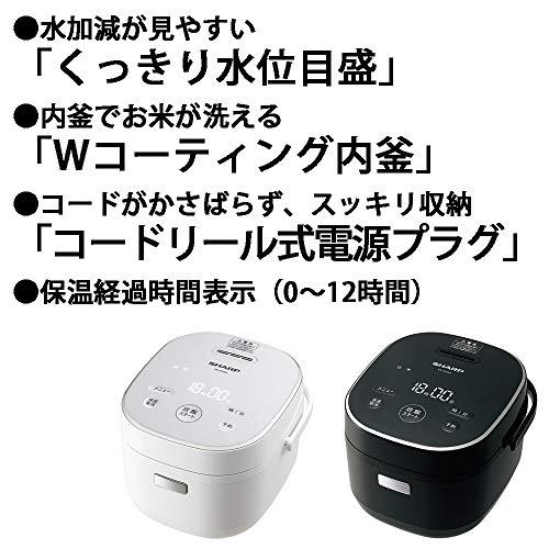 SHARP(シャープ)『ジャー炊飯器(KS-CF05A)』