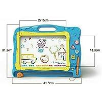 HuaQingPiJu-JP 描画ボード、消去可能なカラフルな落書き落書きボード子供のための魔法のスケッチボードに描画する教育おもちゃ