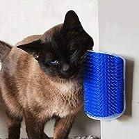 Cat Self Groomer Pet Products for Cats Brush Corner Cat Massage Self Groomer Comb Brush with Catnip キャットニップが付いている猫の自己のトリマー櫛のブラシ