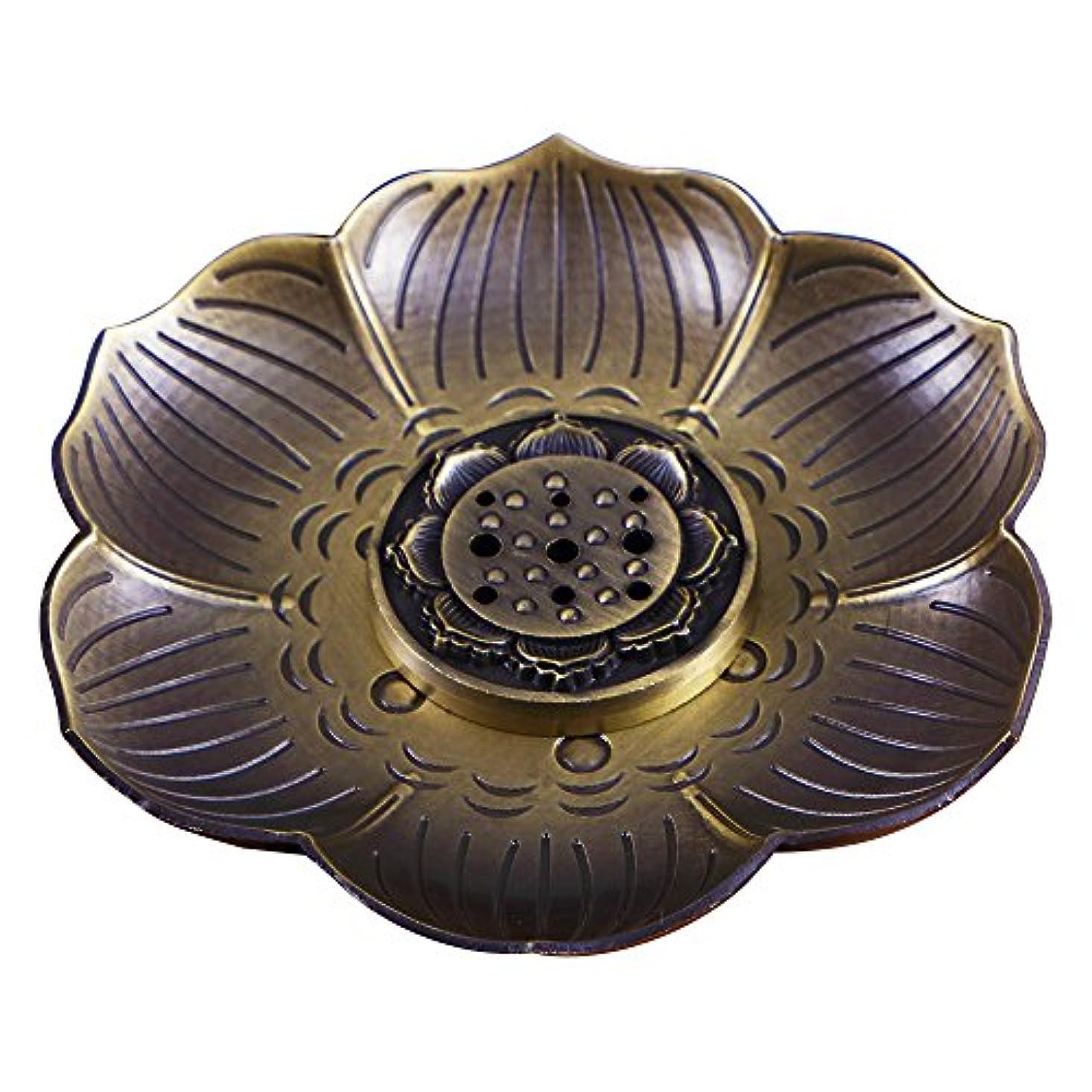 旧正月どのくらいの頻度で資本主義shanbentang Incenseホルダー、多目的ブロンズロータス香炉お香の円錐、またはコイル