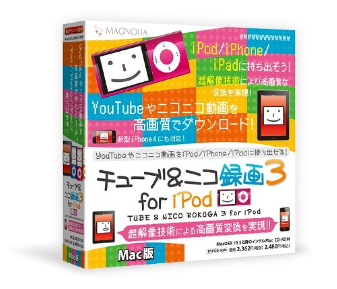 ファランクス赤外線演じるマグノリア チューブ&ニコ録画3 for iPod Mac版