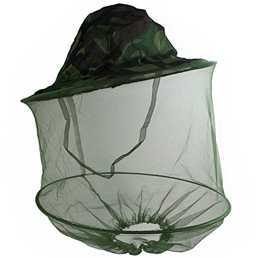 連隊不承認満了保護帽子 防虫日よけ付き害虫駆除