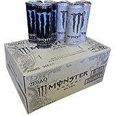 モンスターエナジードリンク アブソリュートリーゼロとウルトラ ハーフ&ハーフ 355ml缶×24本入り 1ケース