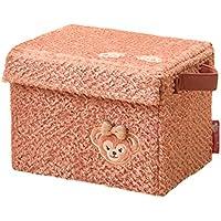6/8~順次発送 ダッフィー の ふわふわ をイメージしたグッズ (シェリーメイ) 収納ボックス (折畳みができます) 収納 ケース ディズニー シー 限定