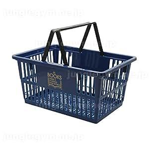 レジかご 買い物かご ブックラバーズ BOOK LOVERS マーケットバスケットSサイズ ネイビー 紺色 小さめ ミニサイズ