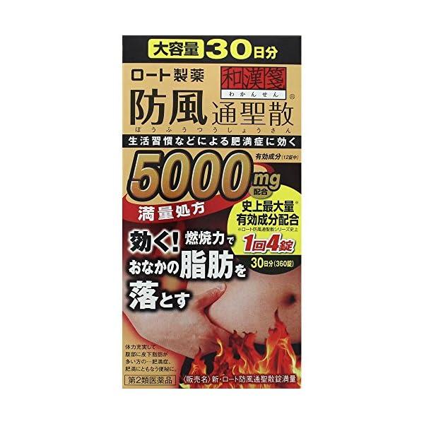 【第2類医薬品】新・ロート防風通聖散錠満量 360錠の商品画像