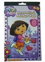 Nickelodeon 270pc Dora the Explorer Sticker Pad - Dora Stickers