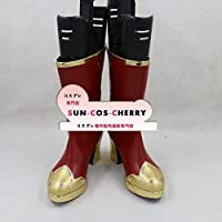 【サイズ選択可】コスプレ靴 ブーツ Z2-0143 夢王国と眠れる100人の王子様 夢100 不思議のクリスマス チェシャ猫 女性22CM
