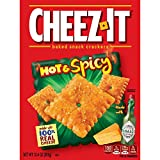 Cheez-It Hot & Spicy Baked Snack Crackers チーズイットホット&スパイシーベーカリースナッククラッカー350g [並行輸入品]