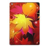 iPad mini4 スキンシール apple アップル アイパッド ミニ A1538 A1550 タブレット tablet シール ステッカー ケース 保護シール 背面 人気 単品 おしゃれ フラワー 紅葉 秋 001254