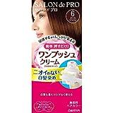 サロンドプロ ワンプッシュクリームヘアカラー 6 40g+40g
